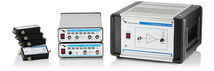 High voltage, high speed laboratory amplifiers