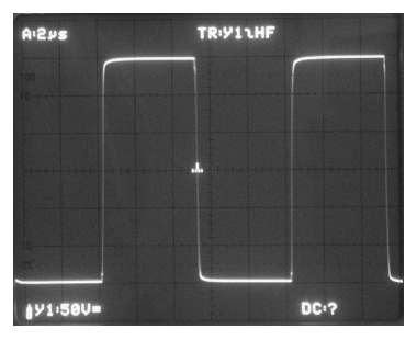 High speed wide bandwidth high voltage amplifier for MEMS and piezo's, step response