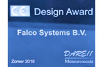 Falco Systems receives product design award